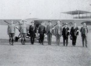 原町飛行所8鵜野開場式にて 昭和11年11月