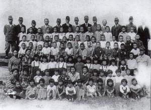 鹿島町中村屋の疎開児童